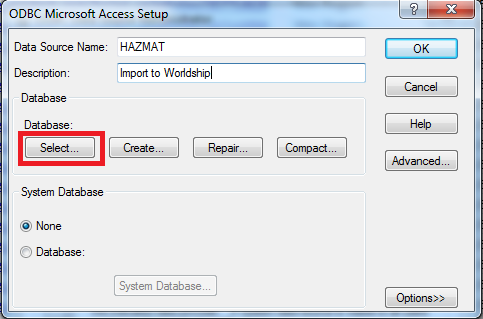 Setting up the WorldShip Connection – Labelmaster Software
