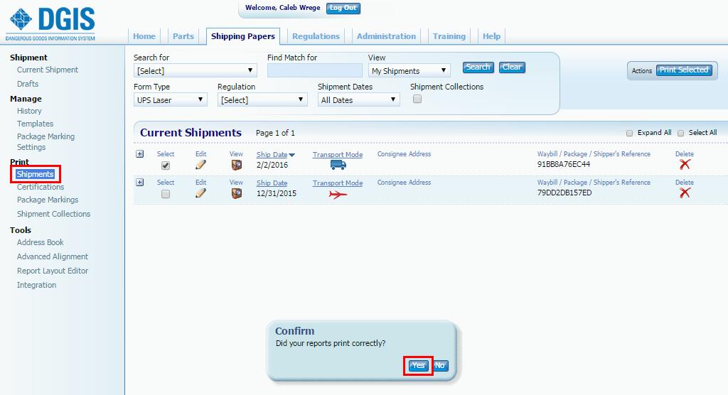 DGIS WorldShip Integration Tool – Labelmaster Software Knowledge Center